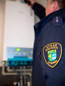 foto: SG - poglądowa kontrola szczelności